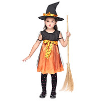 Bộ Đồ Hóa Trang Halloween Cô Tiên Dành Cho Trẻ Em Festnight