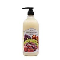 Sữa tắm tinh chất hương trái cây tổng hợp 3W CLINIC RELAXING BODY CLEANSER FRUITS