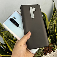 Ốp lưng cho Xiaomi Redmi Note 8 Pro TPU dẻo đen siêu mõng, nhám chống vân tay, 4 gốc dày chống sốc