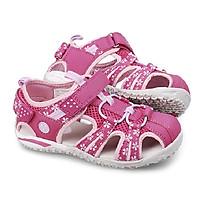 Sandal bé gái 3 - 12 tuổi kiểu rọ bít mũi thể thao khỏe khoắn và năng động SG32