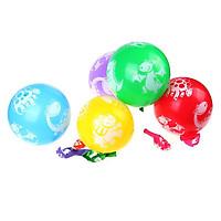 10 bong bóng cao su in hình khủng long
