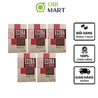 Combo 5 Gạo Hữu Cơ Ecoba Huyết Rồng - Ecoba Organic Red Rice 1kg