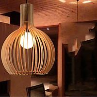 Đèn gỗ thả trần D550
