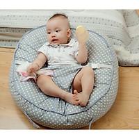 Gối chống trào ngược Babylux Lounger ( Kích thước lớn, có đai an toàn cho bé lớn, có vỏ phụ để thay)