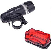 Đèn Led gắn xe đạp có đèn dán sau xe ( màu đen) VRG007918 F 206211