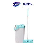 [Tặng bông lau] Cây lau nhà sợi fiber kỳ diệu maxi 380 MyJae Đài Loan thông minh lau sạch nhanh khô
