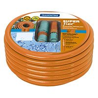 Bộ vòi tưới + ống tưới cao cấp Tramontina Super Flex dài 15m
