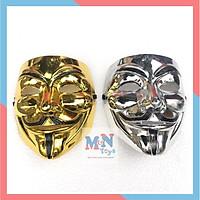 Mặt nạ Hacker mặt nạ Anonymous hàng đẹp loại 1 vàng - bạc hóa trang Trung thu ,Halloween