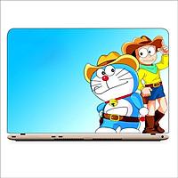 Miếng Dán Skin In Decal Dành Cho Laptop - Doraemon 4 - Mã: 121118