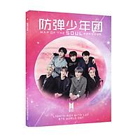 Bộ ảnh BTS World OST 2019 bản đặc biệt tặng sticker BTS