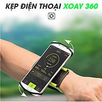 Giá kẹp điện thoại xoay 360 độ đeo tay hoặc để bàn