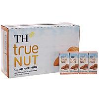 Thùng 48 hộp Sữa hạt Hạnh Nhân TH true NUT 180mlx48