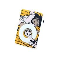 Máy nghe nhạc mp3 chữ C họa tiết hình cậu bé đá bóng tặng tai nghe và dây sạc