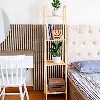 Kệ Sách Gỗ 4 Tầng Size S A Book Shelf 4FS Nội Thất Kiểu Hàn BEYOURs - Gỗ Tự Nhiên