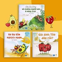 Set 3 Cuốn Truyện Tranh Cho Bé - Bộ Chu Du Cùng Những Người Bạn - Sách Đọc To Cho Trẻ 0-3 4-6 Tuổi