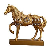 Ngựa Phong Thủy Mạ Vàng