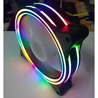 Quạt Case Golden Field Ray Rainbow (Glow) - Hàng Chính Hãng