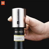 Xiaomi Mijia Circle Joy Bình giữ thông minh Nút bấm điện Mini Cắm chai rượu vang đỏ Máy hút chân không bằng thép không gỉ