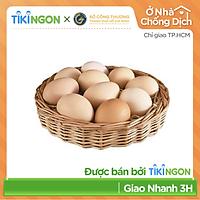 [Chỉ giao HCM] - Trứng gà sạch (hộp 10 trứng) - được bán bởi TikiNGON - Giao nhanh 3H