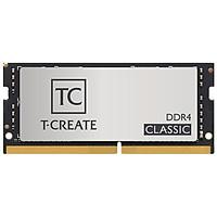 Ram  Laptop TeamGroup T-Create Classic Silver 8GB (TTCCD48G3200HC22-S01) - Hàng Chính Hãng
