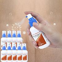 Combo 10 Chai Sát Khuẩn Tay Nhanh Hand-Air Clean Cồn Sát Trùng 70° Chai Xịt 100 ml