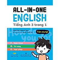 All in One English - Tiếng Anh 3 trong 1 (Kèm file MP3)