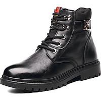 Giày boots nam da bò cao cấp siêu ấm ( có lót lông bên trong ) Ohazo! G129