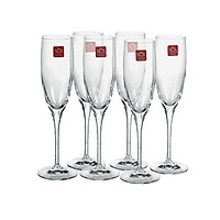 Combo 6 ly uống Champagne RCR Aliseo