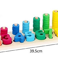 Đồ chơi giáo dục Bộ học số đếm bằng gỗ