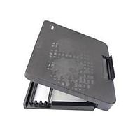 Đế tản nhiệt laptop, quạt tản nhiệt N99 N19 Cooling Pad 2 Quạt đèn led đế nâng 45 độ cho laptop từ 17 inch trở xuống