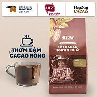 Bột cacao nguyên chất 100% Việt Nam - Dòng Origin thượng hạng túi giấy 500g - Heyday Cacao