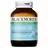 Dầu Hạt Lanh Blackmores Flaxseed Oil 1000Mg Hộp 100 Viên