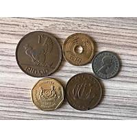 Bộ 5 đồng xu may mắn nhất thế giới BDX250