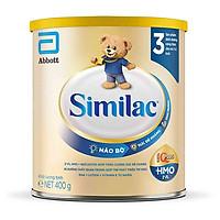 Combo 4 Lon Sữa Bột Similac 3 (400g)