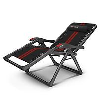 ghế xếp thư giãn gấp gọn chất liệu cao cấp - ghế gấp gọn có ngăn để đồ đa năng