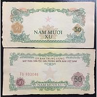 Tiền Việt Nam Xưa 50 Xu 1963 Ủy Ban Mật Trận Giải Phóng Miền Nam Việt Nam, Hình Ngôi Sao [Tiền Xưa Sưu Tầm]
