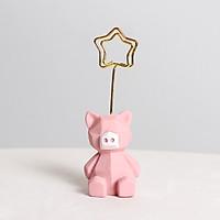 Kẹp ảnh trang trí mini hình Animal cute 3x8,2cm