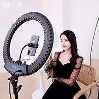 Bộ giá đỡ tripod tích hợp đèn livestream selfie 3 chế độ sáng HQ-18 - Hàng chính hãng