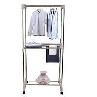 Máy sấy quần áo chính hãng KORICHI KRC-2177 (Xanh ngọc) - Hàng Chính Hãng