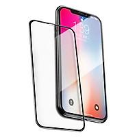 Kính Cường Lực Hoàng Gia Dành Cho iPhone X Remax Series 9D GL-32 (Đen) - Hàng Chính Hãng