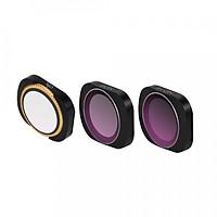 Combo 3 filter mcuv cpl nd8 osmo pocket - hàng chính hãng