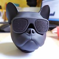 Loa Bluetooth Đầu Con Chó Bull Đeo Kính