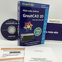 Phần mềm thiết kế GreatCAD phiên bản tiêu chuẩn – Giao diện tiếng Việt - Hàng chính hãng