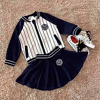 Set cặp áo kẻ sọc N.Y cho bé trai / gái