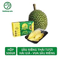 [Chỉ Giao HCM] Sầu Riêng Thái (Tách Múi Sẵn) Hái Già - Sượng Bao Đổi Trả - Hộp 500Gr - Foodmap