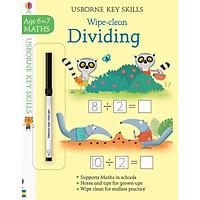 Sách tẩy xóa tiếng Anh - Wipe-Clean Dividing