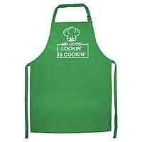 Tạp Dề Làm Bếp In Hình Good Looking is Cooking- Hàng Cao Cấp Chính Hãng