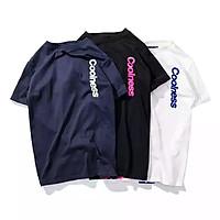 Áo thun oversize nam nữ in decal lụa COOLNESS Unisex chất liệu vải tốt cotton M L XL màu đen và trắng Trumunisex