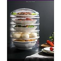 Lồng bàn giữ nhiệt bảo quản thức ăn 5 ngăn cao cấp