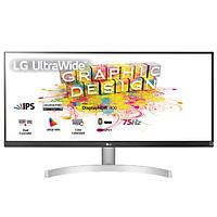 Màn Hình LG 29'' 21:9 UltraWide 29WN600-W Full HD (2560x1080) 5ms 75Hz HDR IPS AMD Maxx Audio (7Wx2) FreeSync - Hàng Chính Hãng